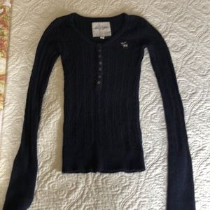 Abercrombie kids size small sweater